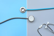 close up of stethoscope for background