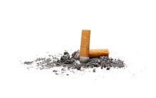 Cigarette Butts, Stubs Isolate...