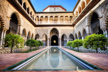 SEVILLE, SPAIN: Real Alcazar I...