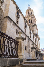 Jaen Assumption Cathedral Lateral Facade View, Spain