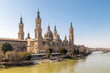 Cathedral-Basilica of Our Lady of the Pillar in Zaragoza (Saragossa) in Spain
