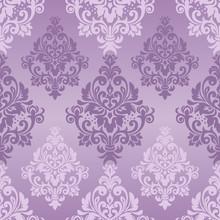Seamless Pattern With Damask O...