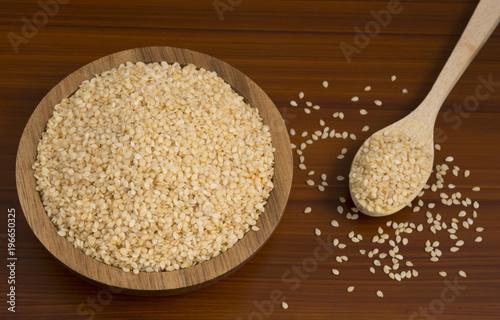 sesame seeds, Sesamum indicum