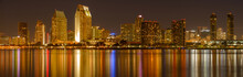 San Diego At Night - A Panoram...