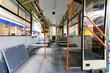 Bus interior, production manufacture