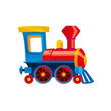 Toy Train Illustration