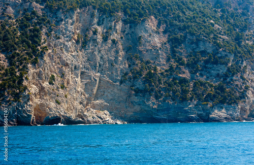 Photographie  Rocky Ligurian Sea coast in Cinque Terre National Park, Italy