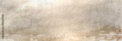 Foto op Canvas Stenen Textur einer alten Betonwand als Hintergrund, auf die etwas Sonnenlicht fällt