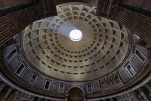 Inside The Pantheon Of Rome