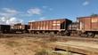 vagão de trem abandonado