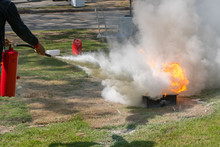 Demonstration Of The Fire With...