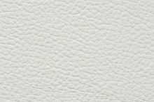 Beautiful Clean White Leather Texture.