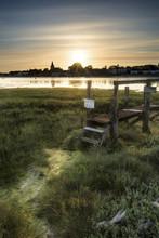 Beautiful Low Tide Landscape O...