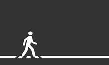 Pedestrian Crossing Line – C.