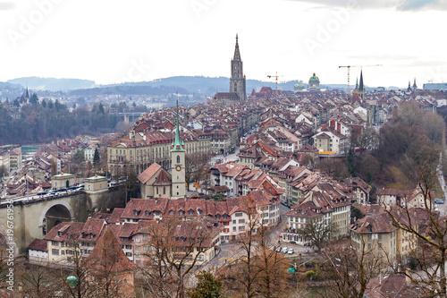 Foto  Panorama of Bern, Switzerland