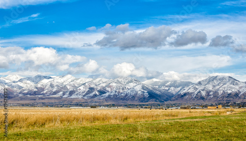 Fotografia Western mountains in fall