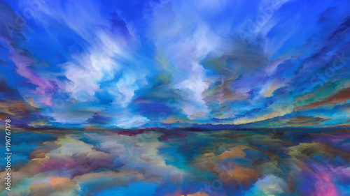 Inner Life of Abstract Landscape