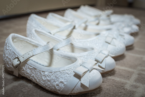 Children Wedding Shoes Buy This Stock Photo And Explore