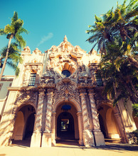 Front View Of Casa Del Prado In Balboa Park