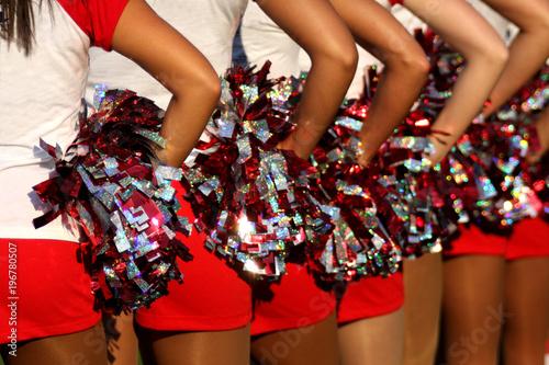 Fotomural cheerleader