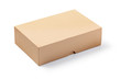 canvas print picture - cardboard box isolated