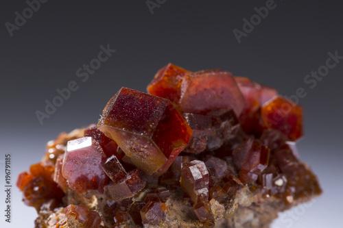 vanadinite mineral stone specimens rock geology minerals