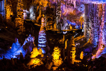 Stalactites stalagmites