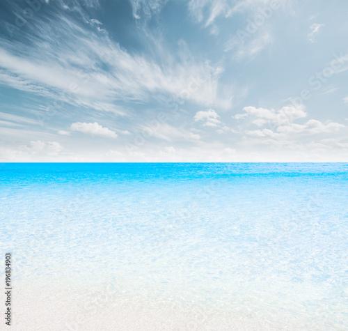 Poster Mer / Ocean Tropical summer beach