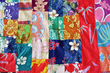 Polynesian Patchwork Quilt Bac...