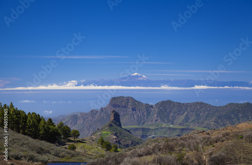 Foto op Canvas Canarische Eilanden Gran Canaria, March 2018