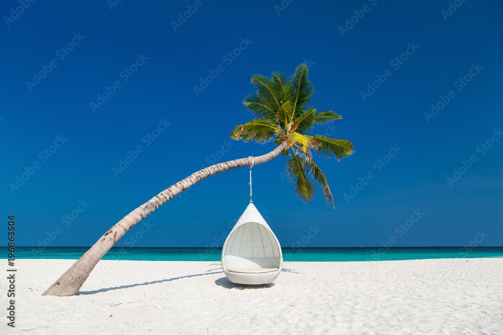 Fototapety, obrazy: Beautiful tropical beach in Maldives