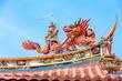 Leinwanddruck Bild - Chinese Dragon