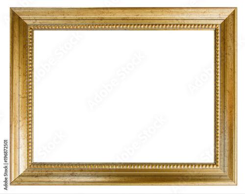 Fototapeta cadre doré