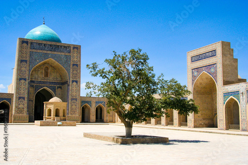 Poster  Bukhara is one of the cities of Uzbekistan