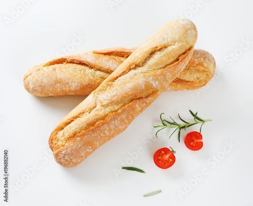 Valokuva  short French baguettes