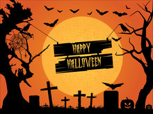 Happy Halloween. Halloween Bac...