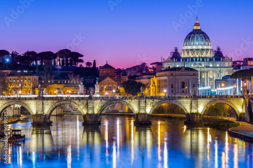 Photo sur Toile Rome St Peter's Cathedral