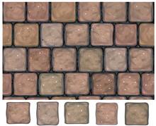 Vector Seamless Texture  Stone...