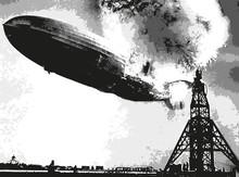 Dirigeable - Catastrophe - Acc...