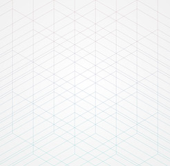 Panel Szklany Wzory geometryczne Geometric thin line white background. Simple graphic print. Vector modern minimalistic stylish trellis. Chaotic grid. Trendy hipster sacred geometry.
