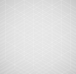 Panel Szklany Minimalistyczny Geometric thin line white background. Simple graphic print. Vector modern minimalistic stylish trellis. Chaotic light grid. Trendy hipster sacred geometry.