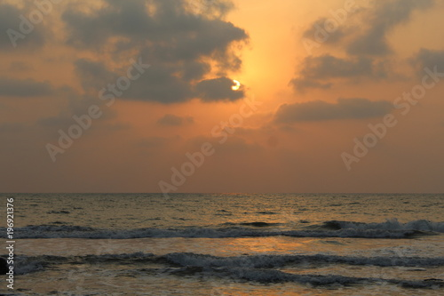 Poster Mer / Ocean Закат на океане