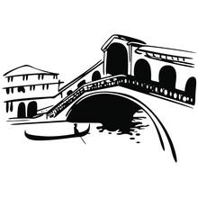 Wenecja Most Rialto Na Canale Grande