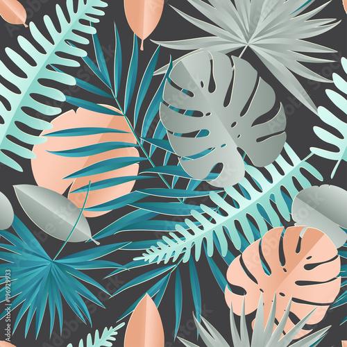 papierowa-palma-monstera-opuszcza-bezszwowego-wzor