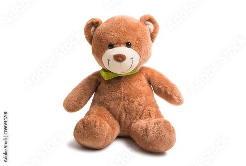 Fotografie, Obraz  soft teddy bear isolated