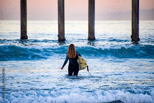 Valokuvatapetti Surfer Girl