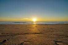 Warm Golden Sunrise In Melbourne