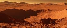 Mars - Red Planet - Landscape ...