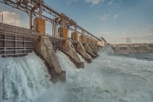 Fototapeta hydroelectric power station obraz