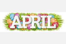 April Single Word Easter Eggs ...